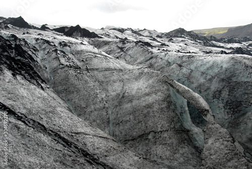 Fényképezés  Solheimajokull Glacier,  Iceland: Solheimajokull Glacier is one of the most accessible in Iceland and is part most South Coast tours of the island
