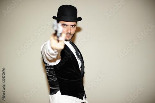 Valokuvatapetti cowboy vaquero