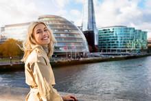 A Beautiful, Blonde Tourist Wo...