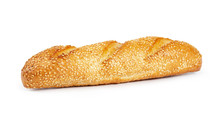 French Wheat Baguette With Ses...