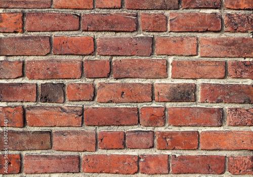 Fototapeta cegła  old-brick-wall-texture-wall-of-red-old-bricks-background