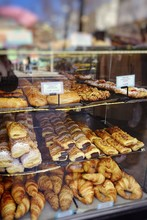 Assortment Of Pastries In A Ba...