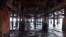 Video Of Walking Under Pier In...