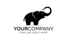 Cute Elephant Logo Designs Con...