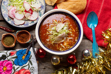 Mexican Red Pozole With Christ...