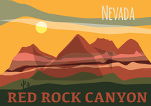 Red Rock Canyon In Nevada