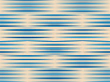 Seamless Blue Lines Pattern In Vintage Style With Differents Size And Color
