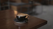 Coffee Being Served