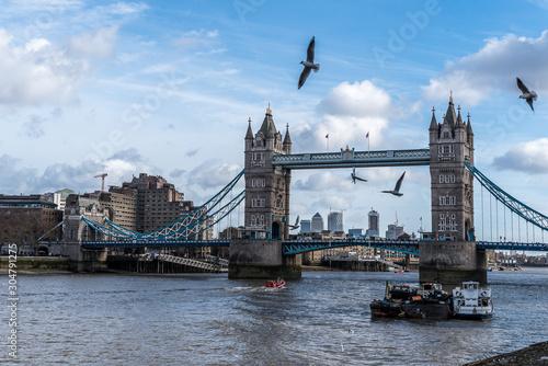 Fototapeta Magiczny czar londyńskich ulic  obraz