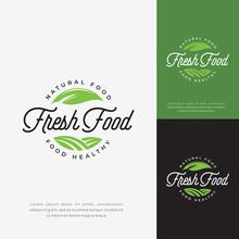 Fresh Food Logo. Natural Food ...