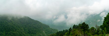 A Panoramic View From Landour Mussoorie Road
