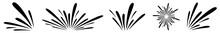 Water Splash Icon Black | Splashes | Droplets Symbol | Splashing Logo | Liquid Motion Sign | Isolated | Variations