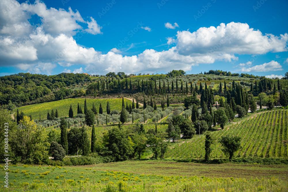 Tuscany, Italy landscape.