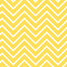 Yellow Chevron Seamless Patter...