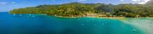 Aeria Lview Of The Tobago Isla...