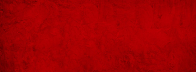 red grunge cement Christmas background with vintage texture concrete banner