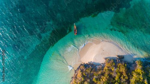 Obraz fumba island, zanzibar - fototapety do salonu
