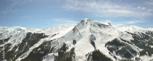 Million Dollar Highway to SIlverton Colorado in the winter