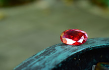 Beautiful  Red Ruby ​​on N...