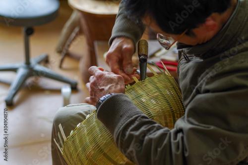 Photo 竹工芸職人