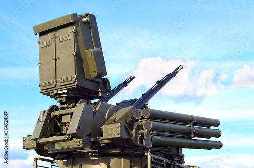 Russian  tactical anti-aircraft  system Wallpaper Mural