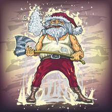 Santa Claus Greeting Card For ...