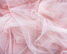Pink Tulle Background