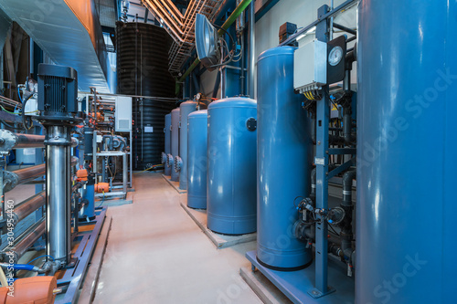 Fotografie, Tablou Water filters in the power station