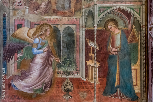 Photo Madonna with Angel of the Annunciation