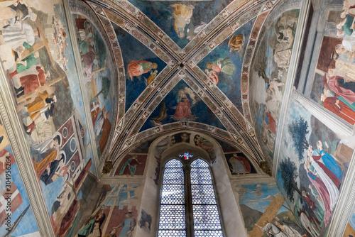 Church of San Francesco in Arezzo Canvas Print