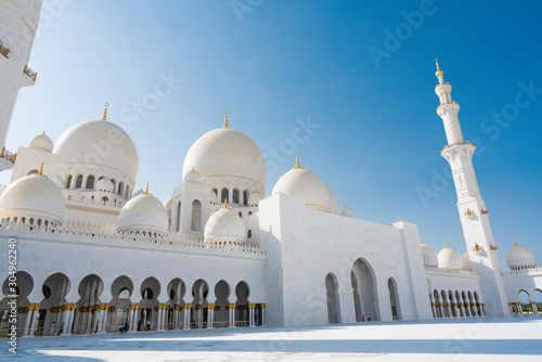 Fotografie, Tablou  Abu Dhabi , United Arab Emirates  November  04 , 2019
