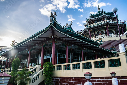 Taoist temple Canvas Print