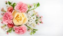Festive Floral Composition.