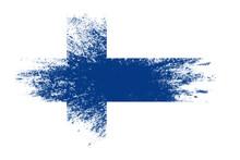 Finland flag Immagine gratis - Public Domain Pictures