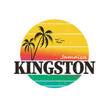 Kingston Jamaica Paradise Vint...