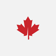Maple Leaf Logo Template Vecto...