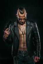 Gangster Man With Gun