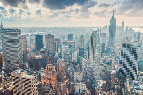 Foto auf AluDibond New York TAXI New York City Manhattan