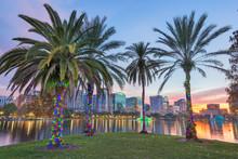 Orlando, Florida, USA Downtown...