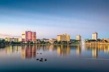 Lakeland, Florida, USA Skyline