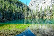 Rainbow Lake Reflection