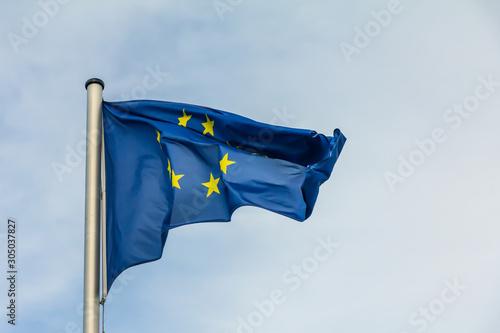 Fotografie, Tablou  European Union flag, EU