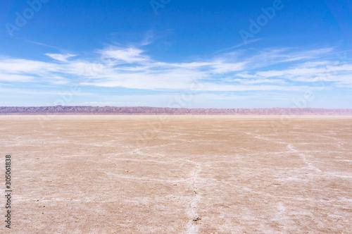 Photo Chott el-Jérid, désert de sel en Tunisie