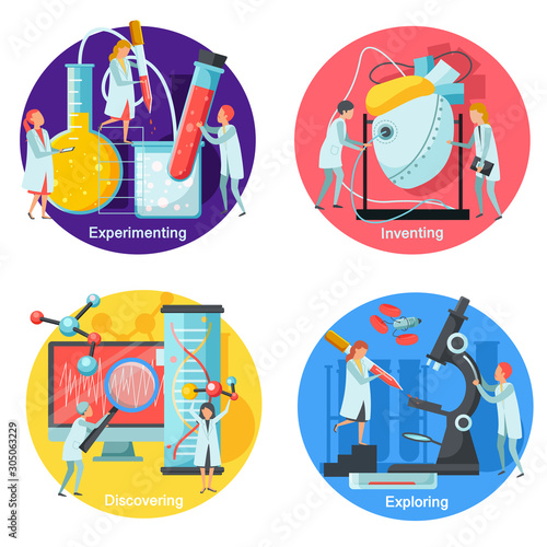 Photo  Future Technology Concept Icons Set