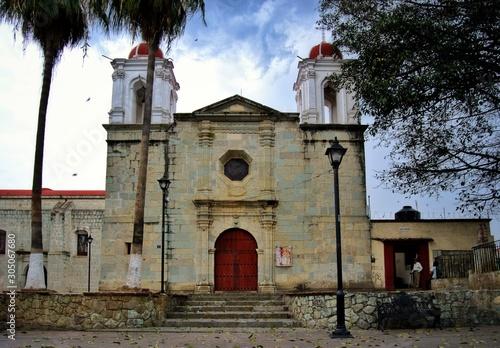 Templo de Guadalupe Oaxaca Canvas Print