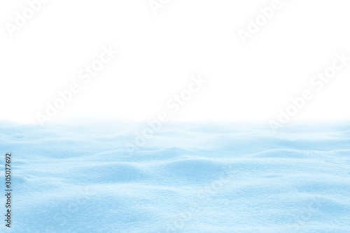 Recess Fitting India A large beautiful snowdrift isolated on white background.Winter snow background. A big snow drift