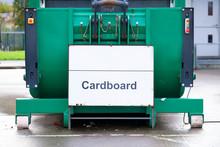 Cardboard Recycle Green Bin Ma...