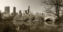 Central Park With New York Cit...
