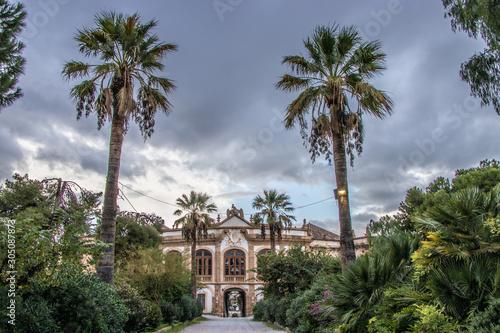 Villa Palagonia - Bagheria , Sicilia Canvas Print