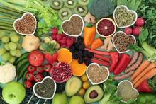 Health Food For A Healthy Hear...